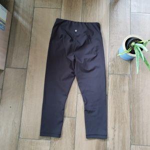 90 degree gottexx black capri crop leggings M